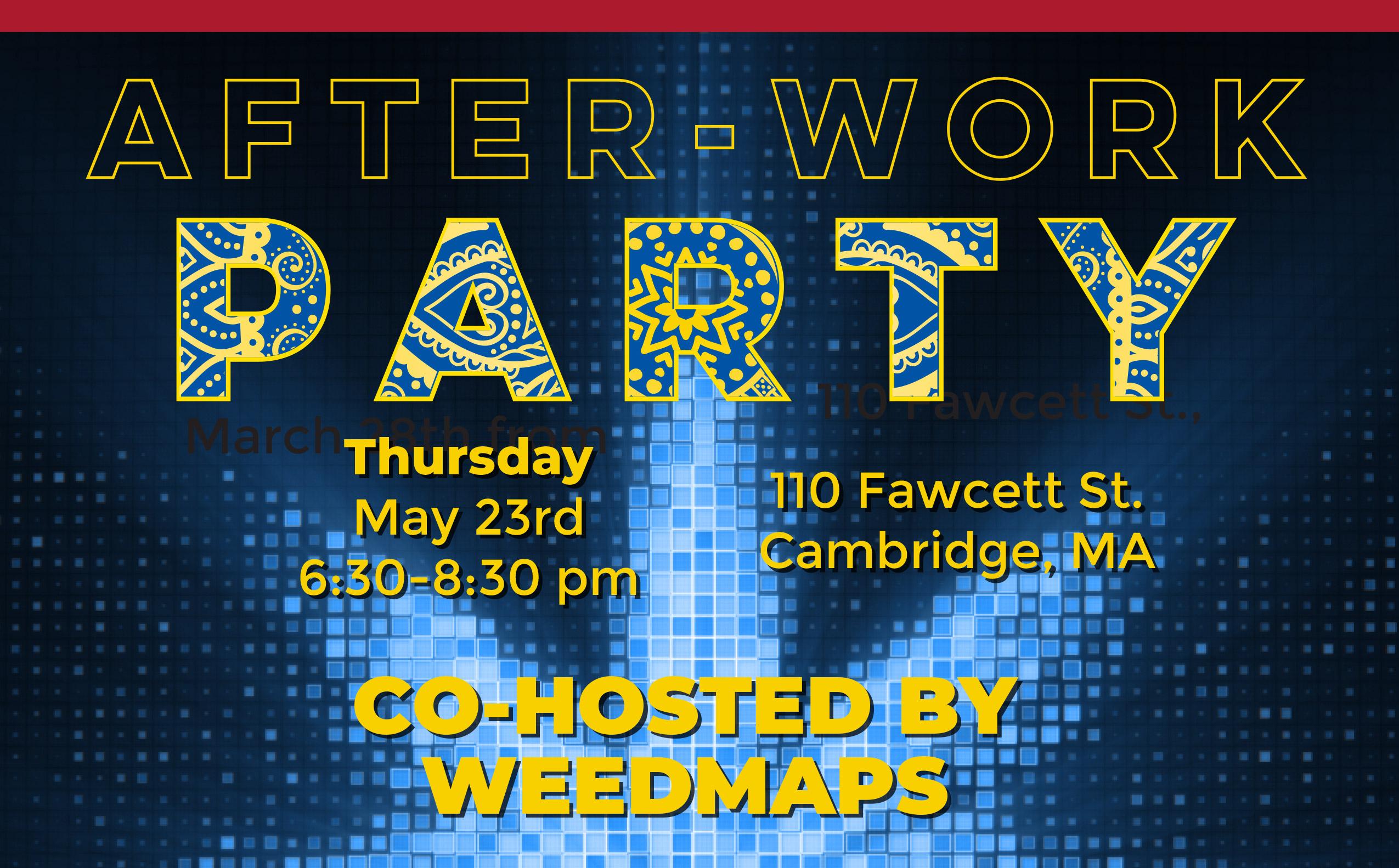 After Work Party @ 110 Fawcett St  | Revolutionary Clinics